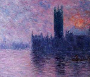 Monet - Londra, il Parlamento