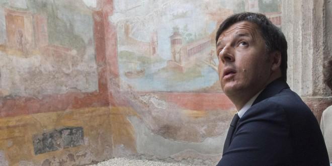 RENZI DALLA CASA BIANCA A POMPEI, QUI L'ITALIA CHE CAMBIA