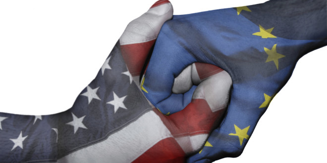 Handshake between United States and European Union